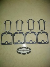 1977-81 KAWASAKI KZ650 CARBURETOR GASKETS *REUSABLE* (4 BOWLS + FREE TOPS ) - $10.88