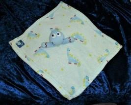 Blankets & and Beyond Baby Boy Blue Red Dinosaur Security Lovey Nunu Fleece - $49.49