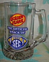 Goldenflake SEC 2006 Championship STEIN clear glass 6 5/8 inches tall - $11.87