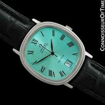 1974 OMEGA de Ville Vintage Homme Automatique Ss Acier Watch - Mint Avec - $1,362.71