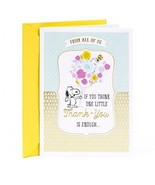 Hallmark Administrative Professionals Day Greeting Card (Peanuts Snoopy... - $18.85