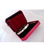 US SELLER! Screw Driver Bracelet Set. ROSE Gold Plate, Lrg size 21cm 8.2... - $49.95