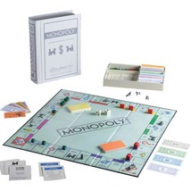Winning Solutions - Vintage Bookshelf Edition Monopoly Game - Gray - $54.37