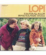 Vtg Adult Child Reynolds Icelandic LOPI 126 Sweater Vest Knit Crochet Pa... - $16.99
