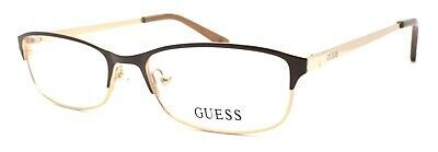 Primary image for GUESS GU2544 045 Women's Eyeglasses Frames 52-17-135 Shiny Light Brown + CASE
