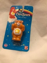 Care Bear 2005 Orange Laugh Lot Bear Pvc Toy Collectible Cake Topper Mini Baby - $8.79