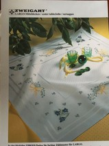 Zweigart Largo Table Topper Eggshell 11 count Cross Stitch + Free Pattern NEW - $37.95