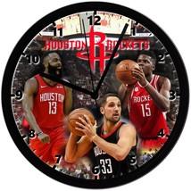 "Houston Rockets Homemade 8"" NBA Wall Clock w/ Battery Included - $23.97"