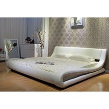 Minimalist Limited Edition Upholstered Bed King Size Contemporary Design... - $1,099.93