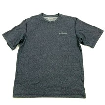 Columbia Blue Shirt Size L Large Adult OMNI-WICK Outdoor Athletic Breath... - $10.70