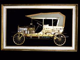 """30"""" Antique Model T / HUGE car metal art / fram... - $275.00"""