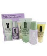 Clinique 3 Step Travel Size Set for Dry Skin, Soap Mild/Clarifying Lotio... - $14.00