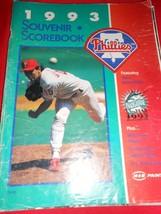 MLB Collectible Scorebook- 1993 Souvenir Scorebook-PHILADELPHIA PHILLIES - $16.42