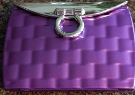 """Double Sided ~ 2 Mirrors ~ Purple ~ Compact Mirror ~ 2.25"""" x 3"""" ~ Purse ... - $22.80"""
