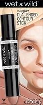 wet n wild MegaGlo Dual-Ended Contour Stick Light Medium Concealer Face Make Up - $8.29