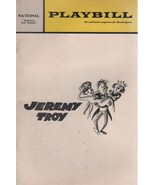 "National Theatre Playbill ""Jeremy Troy"" March 1969 by Jack Sharkey/Will ... - $3.00"
