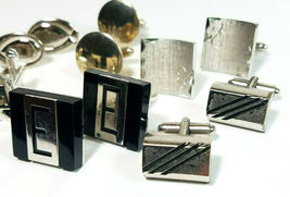 Lot of 7 Sets Vintage Men's Cuff Links SEE PHOTOS FOR DETAILS image 3