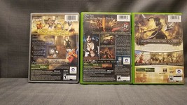 Lot of 3x Xbox Games Prince of Persia Sands Time Warrior Within Two Thrones image 2