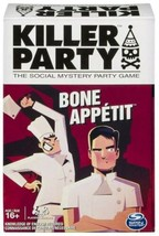 Killer Party: Bone Appetit Social Whodunit Mystery Party Game Spin Master Games - $19.90
