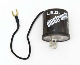 OCTANE LIGHTING 2 Pin Prong Terminal Relay Electronic Flasher 12 Volt Led Turn S - $14.80