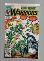 The New Warriors #26 - August 1992 - Marvel Comics - The Next Step - Mar... - $1.47