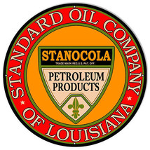 Extra Large Standard Oil Comp. Reproduction Motor Oil Sign 24×24 - $79.20