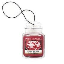 4 new yankee candle ultimate car jar air freshener berry trifle - $13.00