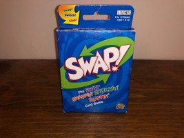 SWAP! Card Game Swift Swapping' Switching' Slapping' 2002 Patch Big Deal - $5.75