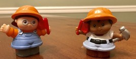 2 Little People Construction Workers - $5.95
