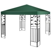 10' x 10' 1-Tier or 2-Tier 3 Colors Patio Canopy Top Replacement Cover-1... - $48.21