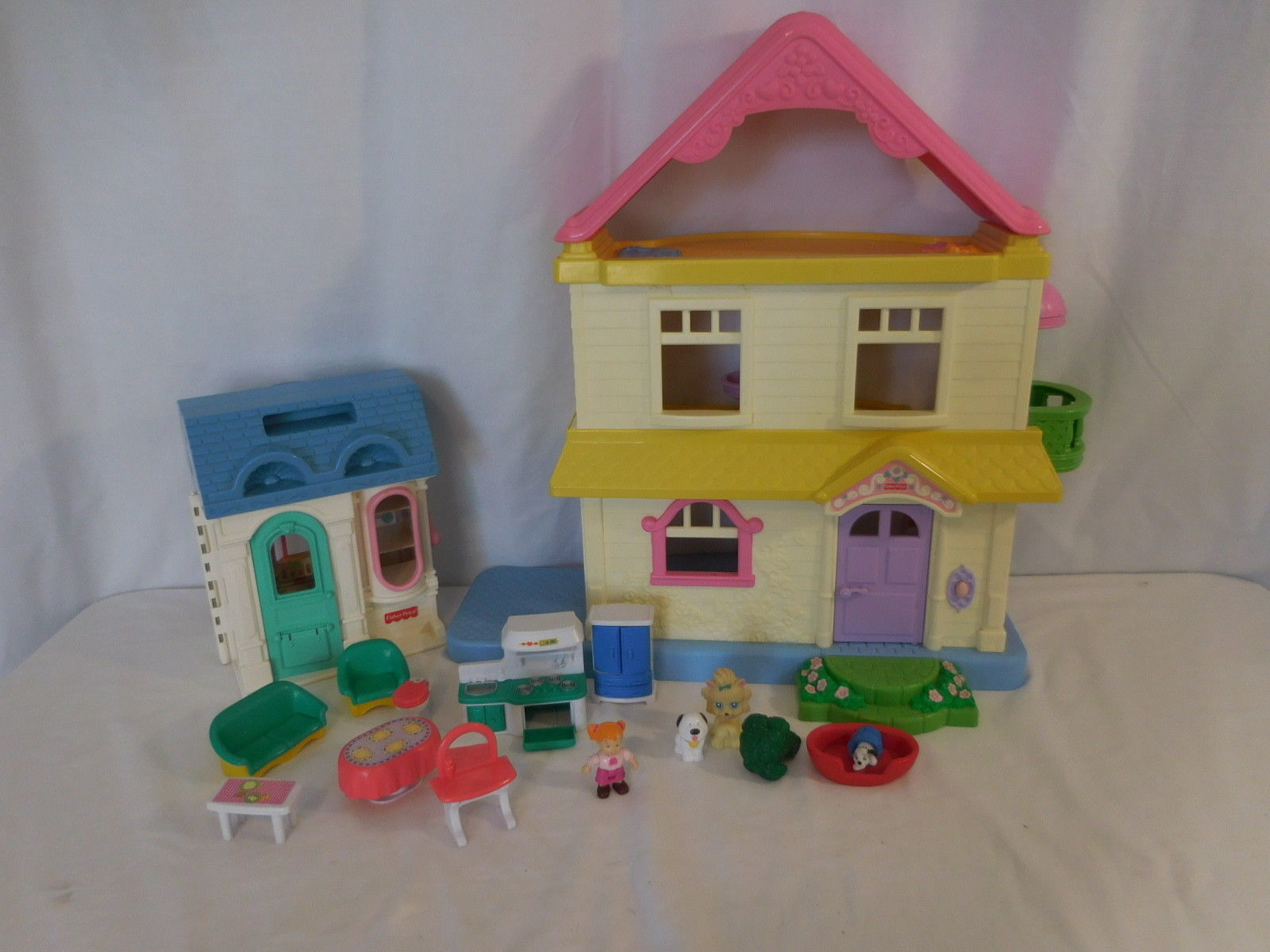 Fisher Price My First Dollhouse Dolls And 20 Similar Items