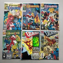 Lot of 6 Excalibur (1988 1st Series) #6 36 41 42 71 75 VF Very Fine - $21.78