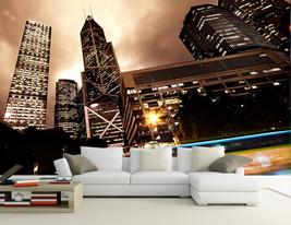 3D Schöne Stadt der Nacht 868 Fototapeten Wandbild Fototapete BildTapete Familie - $51.18+