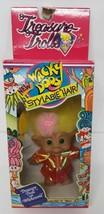 Vintage NEW Treasure Troll Belly Button Wishstone Wacky Doos Ace Novelty... - $21.37