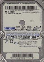 "MP0402H  Samsung 40GB IDE 44PIN 2.5"" 9.5MM Hard Drive NEW"
