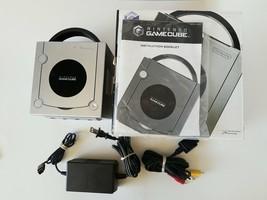 Nintendo GameCube Ltd.Ed. Platinum Console in Box. DOL-101 - $153.59