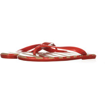 MICHAEL Michael Kors Jet Set MK Jelly Flip Flop Sandals 730, Orange, 6.5 US - $25.91