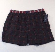 Tommy Hilfiger Black Classic Fit Cotton Boxer Shorts Underwear 1 Pair Me... - $18.74