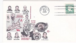 STS-51D DISCOVERY TELESAT ANIK DEPLOYED HOUSTON TX APR 12 1985 SPACE VOY... - $1.98