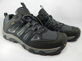 Keen Oakridge Size US 14 M (D) EU 47.5 Men's WP Trail Hiking Shoes Gray 1015313 - $79.88
