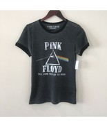 New Pink Floyd Juniors Shirt Size Small Black Ringer The Dark Side Of Th... - $39.60