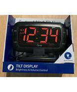 "30016 Equity by La Crosse AC Powered 1.8"" Swivel Tilt LED Digital Alarm ... - $18.42"
