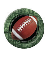Football Frenzy 9 Inch Dinner Plates/Case of 96 - $59.05 CAD