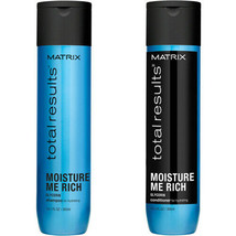 Matrix Total Results Moisture Me Rich Shampoo & Conditioner 10.1.Oz Each. - $21.49
