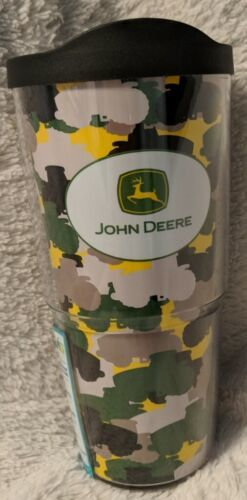 John Deere LP46524 24oz Tervis Tumbler Nothing Runs Like A Deer