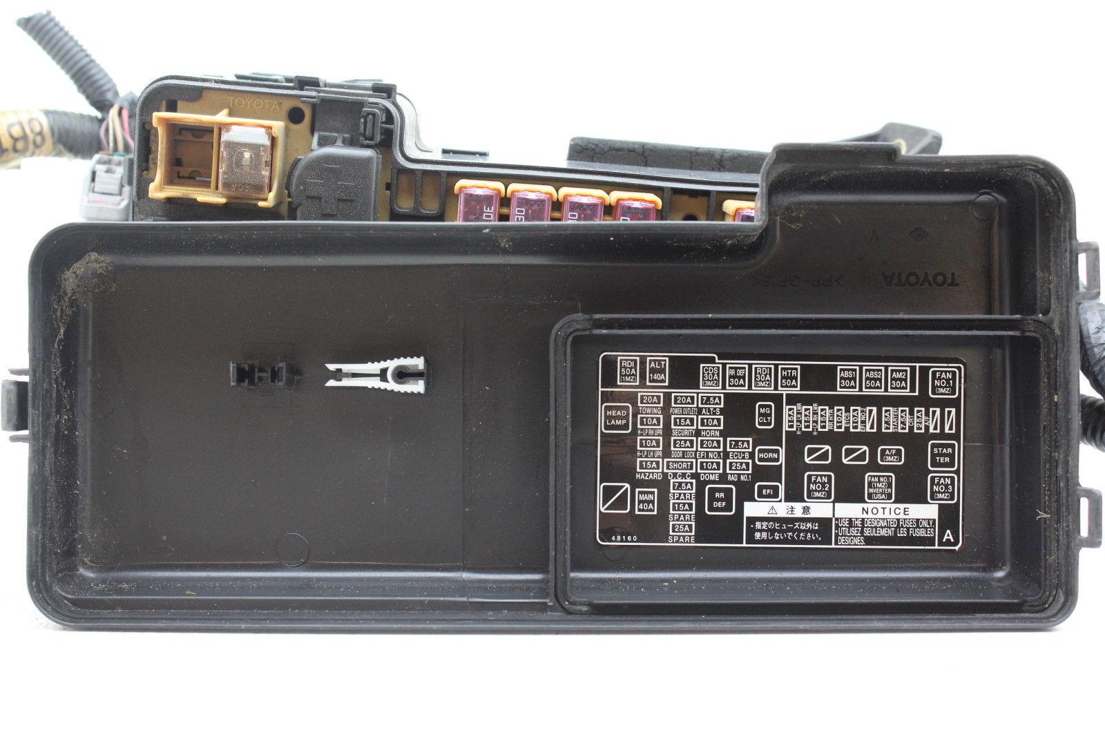 ... 04 05 06 07 Toyota Highlander 82720-48021 Fusebox Fuse Box Relay Unit  Module ...