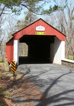 Cabin Run Covered Bridge 13 x 19 Unmatted Photograph - $35.00