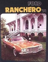 1974 Ford Ranchero Brochure, 500 GT Squire - $5.80