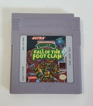 Teenage Mutant Ninja Turtles Fall of the Foot Clan - Nintendo Game Boy - $9.85