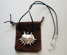 The Legend Of Zelda Majora's Mask Majora metal silver Pendant Necklace M... - $9.89